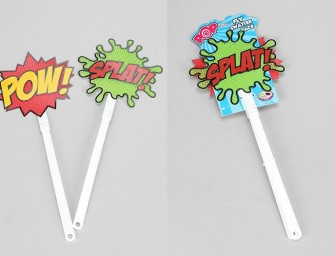 Combat insects like a Superhero with Pow! Splat! Fly Swatters