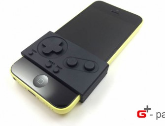 G-pad Cover Converts Your Smartphone into Gameboy