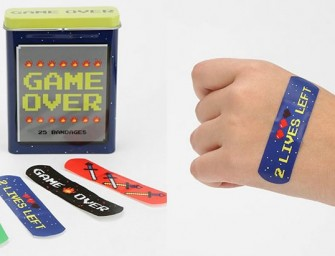 8-BIT Video Game Bandages make everything fun