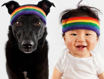 Adorable pics of Baby Jasper and his rescue dog Zoey will make your day