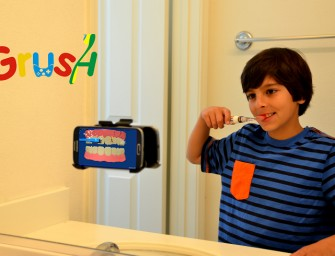 Grush: The Gaming Toothbrush for Kids (and adults who need the extra help)