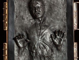 Han Solo in Carbonite Life-Size Figure: Seven-and-a-half feet of movie history