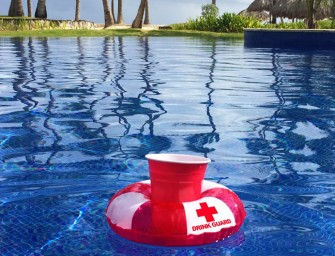 GoPong Drink Guards – Inflatable Floating Drink Preservers Saves Your Drinks