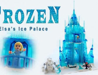 "This LEGO ""Frozen"" Ice Palace brings the fairytale to life!"