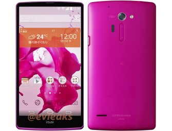 LG G3 looks promising in Pink!