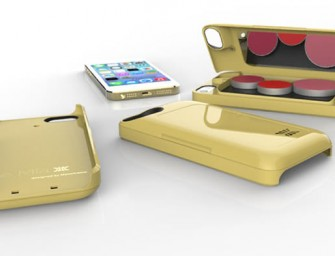 Mia Case stores your makeup, while protecting your iPhone!