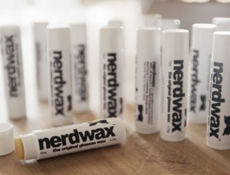 Nerdwax keeps your glasses up on the nose!