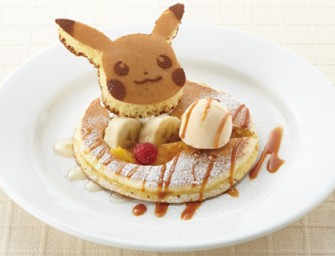 Pokemon Pancakes for an anime-infused breakfast!