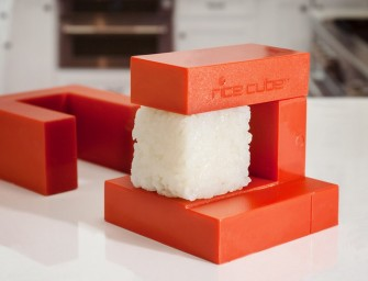 The Rice Cube makes adorable square sushi in seconds