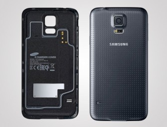 Samsung launches Wireless Charging Covers for Galaxy S5
