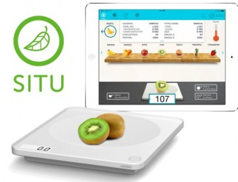 The SITU Smart Food Nutrition Scale tells you exactly what's in your next meal