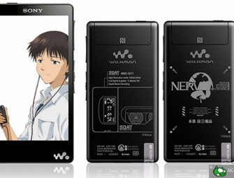 Sony Evangelion Walkman Series Out Next Week