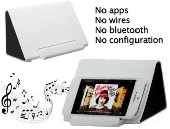 Wireless Touch Phone Amplifier for a musical Spring!
