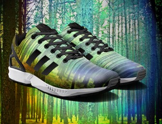 The new Adidas Photo Print App for the ZX Flux lets you print your Instagram pics onto your sneakers