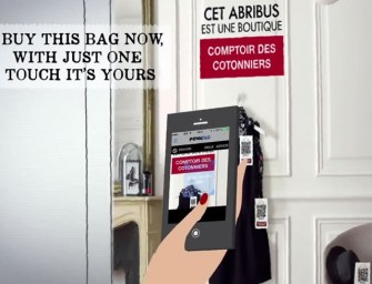Comptoir des Cotonniers introduces Fast Shopping: Scan with your phone and buy in 20 seconds