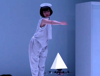 Drones Enthral All with Sci-Fi Dance Performance In Tokyo