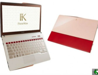 Fujitsu rolls out the second Floral Kiss: The new Ultrabook for women