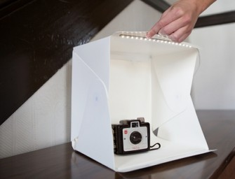Foldio: The collapsible portable pop-up studio for that perfect shot anywhere