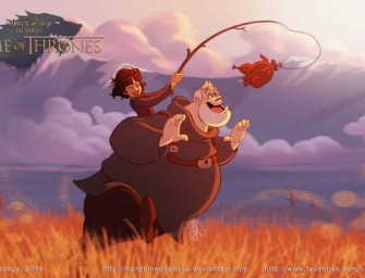 Game of Thrones cast get a Disney makeover
