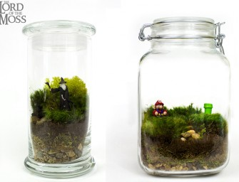 Geeky Terrariums: May the moss be with you!