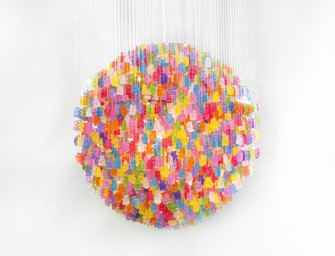 Gummy Bear Chandelier will make your surroundings surreally sweet