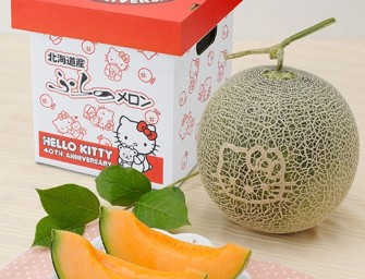 Hello Kitty Cantaloupes Part Of 40th Anniversary Celebration