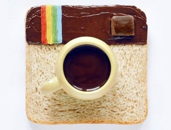 Social Media inspired Food art by Daryna Kossar