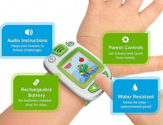 Leapfrog LeapBand: A wearable activity tracker for kids