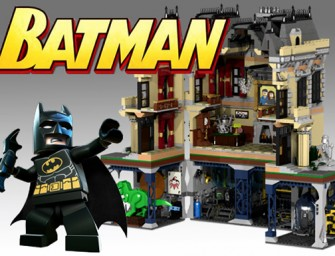 Lego's Assault on Wayne Manor kit: A dream Lego project