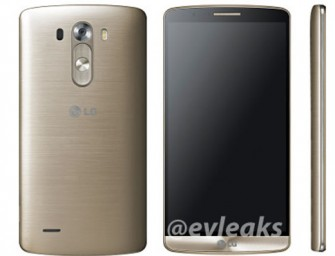 Leaked: LG G3 Looks Regal In Gold and White, beats Pink