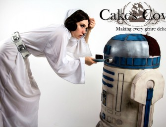 Life Size R2D2 cake for a droid-full celebration!