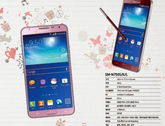 Rumored: Pink and Red Samsung Galaxy Note 3 Neo coming soon