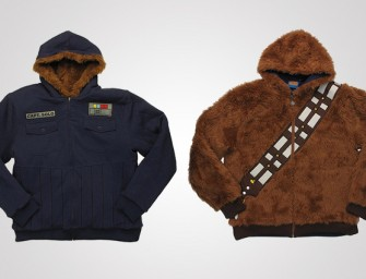 Star Wars Chewbacca Han Solo Reversible Hoodie: The best of both worlds