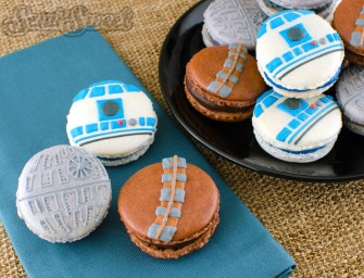 Take a Guilt Trip with Star Wars Macaroons
