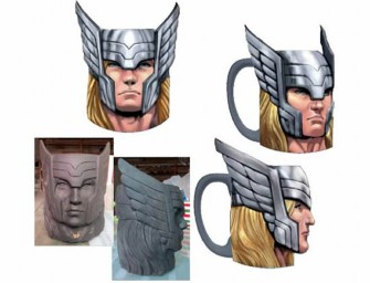 Thor Marvel Molded Mug: Who needs a heavy hammer, we have coffee!