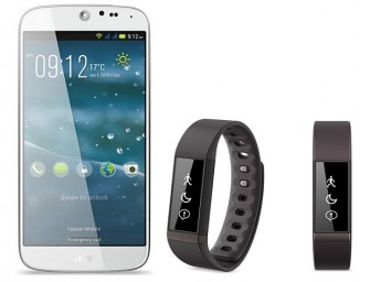 Acer launches Liquid Jade Smartphone and Liquid Leap Smartband