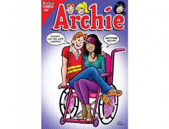 Archie Comics new physically challenged character has a fashionable side