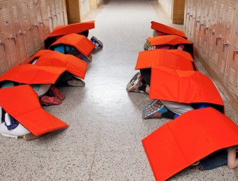 The Bodyguard Blanket keeps your kids safe during school shootings and natural disasters