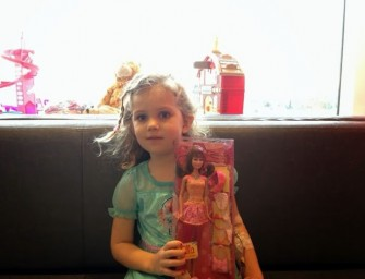 Chemotherapy Barbies makes young Cancer patients smile