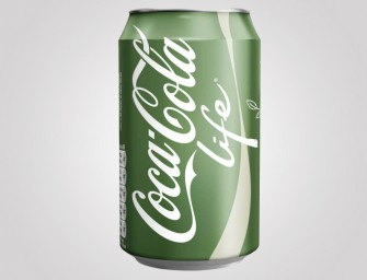 Coke releases Coca Cola Life, the healthier cola drink, in Britain