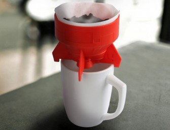 Rocket Fuel One-cup Coffee Brewer For Singles who Love Their Caffeine