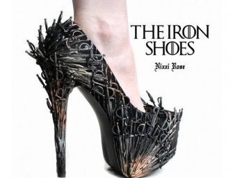 Game of Throne inspired heels are fit for the Queen of Westeros