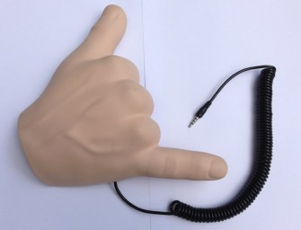 Give a Hand for Handiheadset, The Hand-Shaped Headset