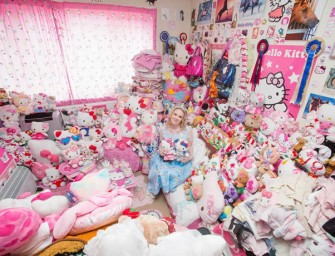 Hello Kitty lover lives in Kitty Kingdom: 10,000 HK collectibles in one tiny apartment
