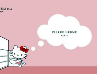 Hello Kitty teams up with Pierre Herme for Macaron Day!