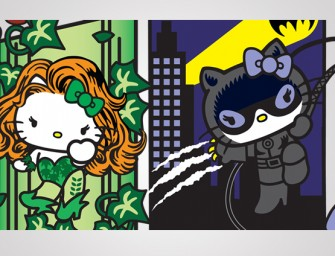 Hello Kitty collaborates with DC Comics to show some Girl Power