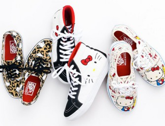 The VANS x Hello Kitty Summer 2014 collection is to die for