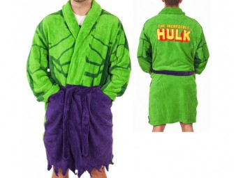Incredible Hulk Dressing Gown: Calm down your inner monster