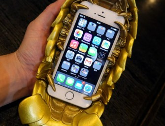 Isopod Phone Case Now Comes in Gold, Still Looks Creepy