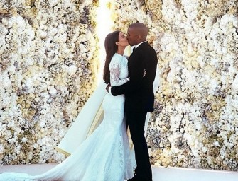 Kim, Kanye Waste 4 Honeymoon Days Photoshopping Wedding Picture